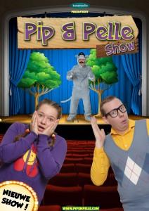 Poster Pip en Pelle Show 2017